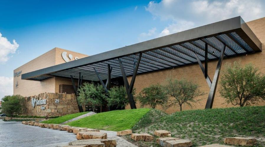 Fachadas ventiladas - sistema masa - centro comercial serena