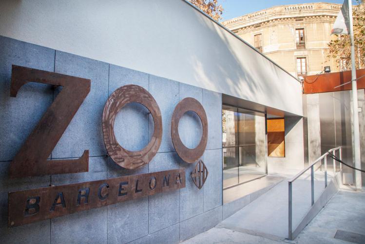 Zooclub Barcelona con sistema de fachada ventilada · Sistema Masa