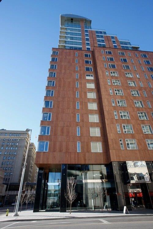 Grenville Germain Complex con fachadas ventiladas - Sistema Masa