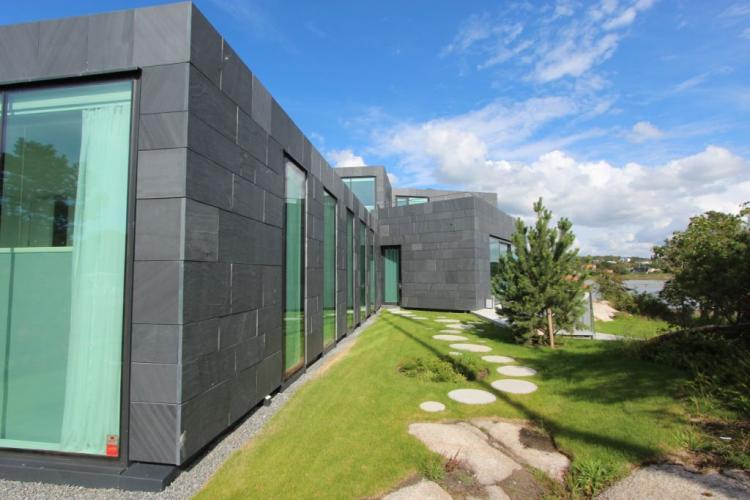 Fachadas ventiladas vivienda Unifamiliar Goteborg