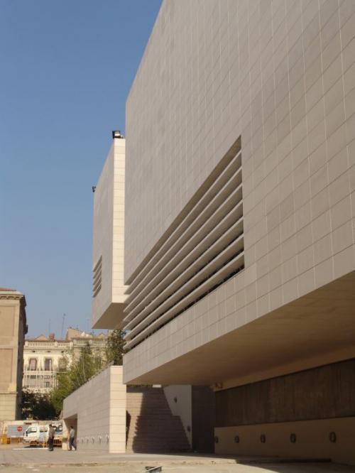 Museo Diocesano y Comarcal LLeida con sistema de fachada ventilada · Sistema Masa
