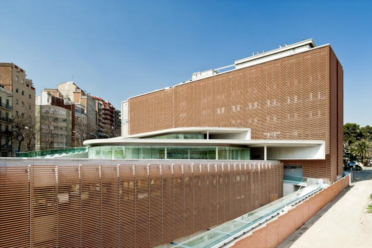 Estructura de fachadas - Sistema Masa - Fundación Puigvert