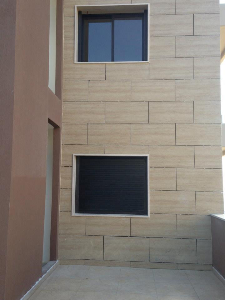 Fachadas ventiladas para Victoria Residence Aramoun