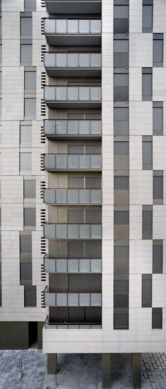 Sistema Masa • Edifificio Plurifamiliar Colón - Wagner •  fachadas ventiladas