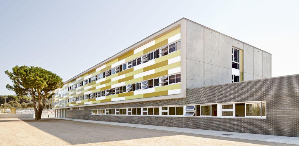 Sistema Masa • IES Vilanova del Vallés • fachadas ventiladas
