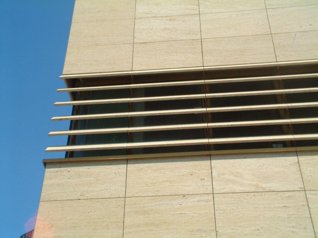 Lamas de la fachada ventilada