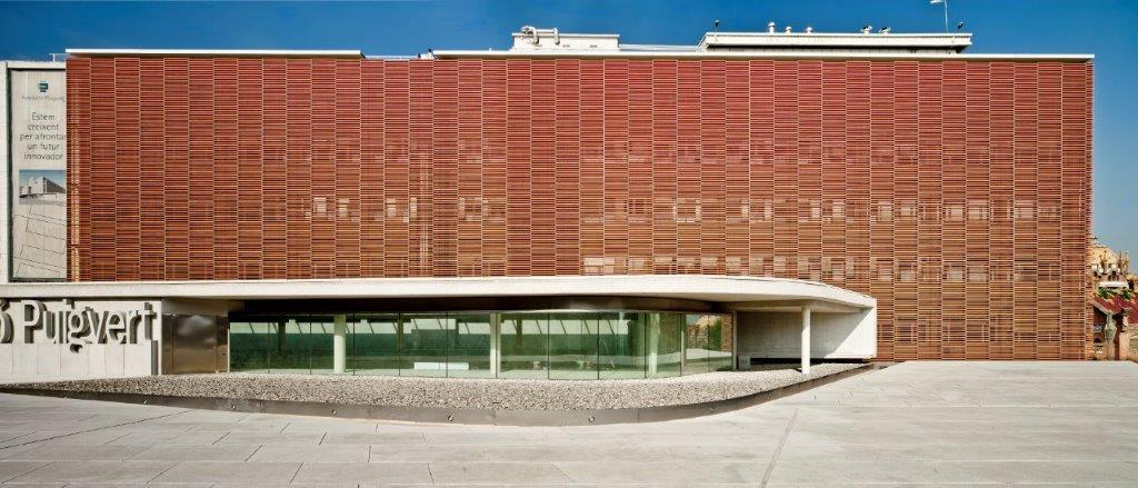 Sistema Masa • Fundación Puigvert • Estructura de fachadas ventiladas