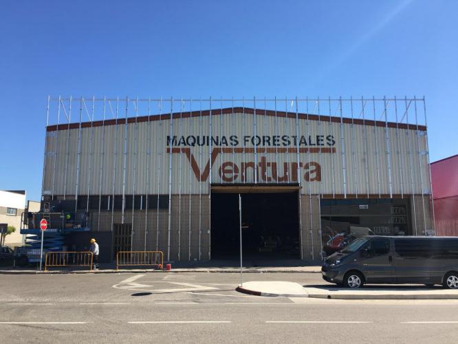 Rehabilitación Nave Industrial Aiguaviva