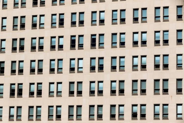 Sede Isdefe con fachadas ventiladas - Sistema Masa