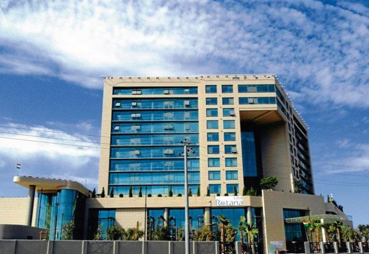 Hotel Erbil Rotana con fachada ventilada - Sistema Masa