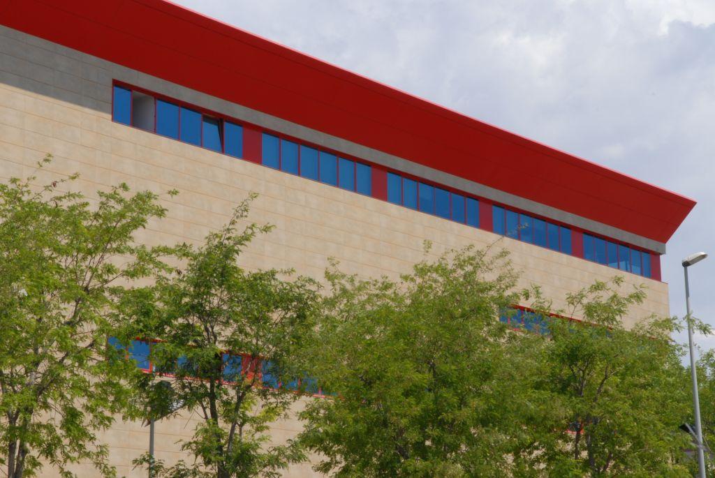Sistema Masa • Edifcio Industrial Damm • fachadas ventiladas
