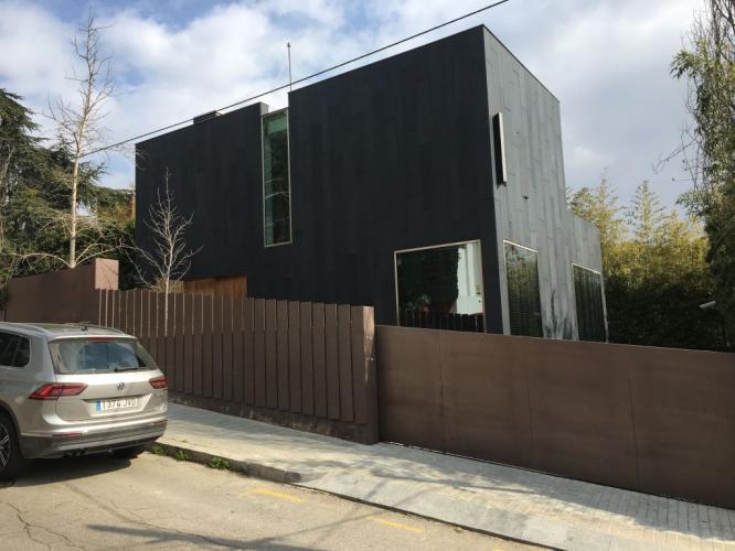 Vivienda Unifamiliar Trinitat del Mont con fachada ventilada - Sistema Masa