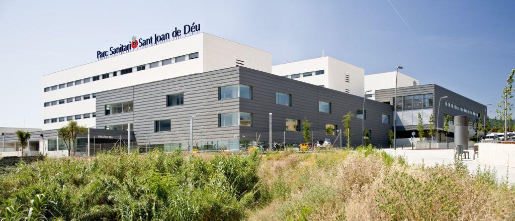 Fachadas ventiladas de Sistema Masa. Hospital Sant Joant de Deu