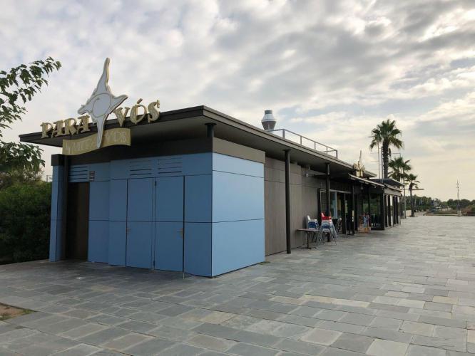 Restaurante Para Vos con fachada ventilada de Sistema Masa