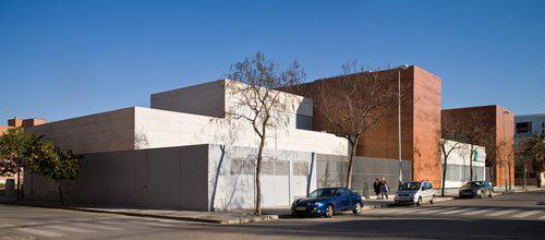 Centro de Valoración y OrientaciónCentro de Valoración y Orientación revestimiento fachada - Sistema Masa