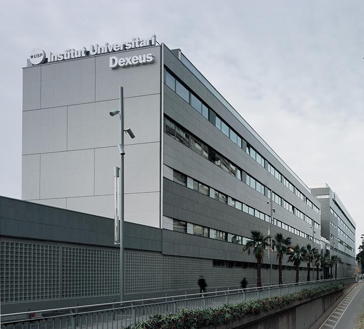 fachadas ventiladas clínica universitaria dexeus