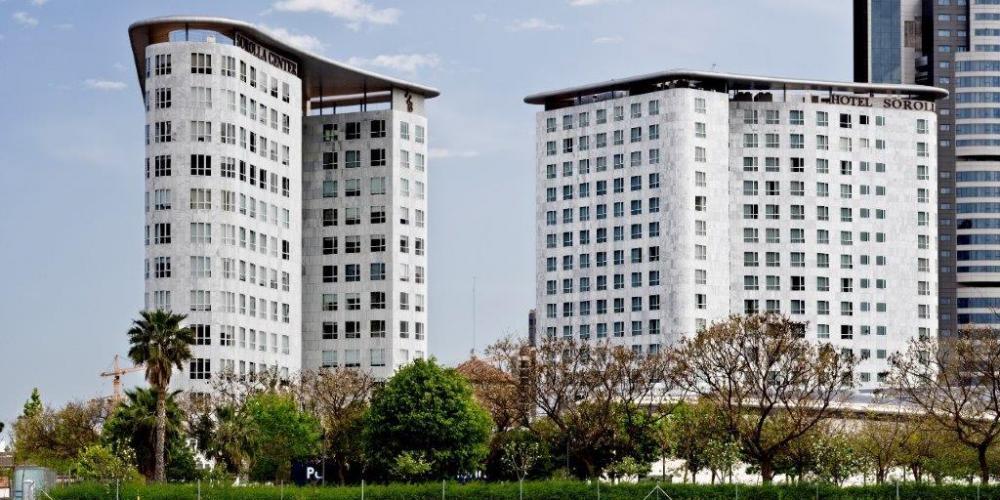 Sistema Masa • Hotel y oficinas Sorolla Palace • fachadas ventiladas