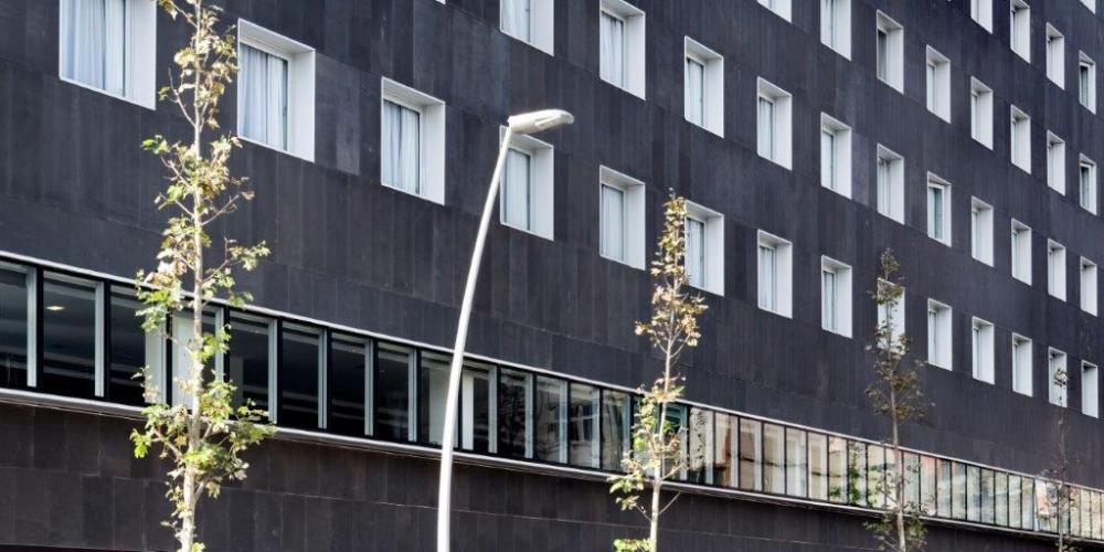 Fachada de Sistema Masa para el Hotel 22
