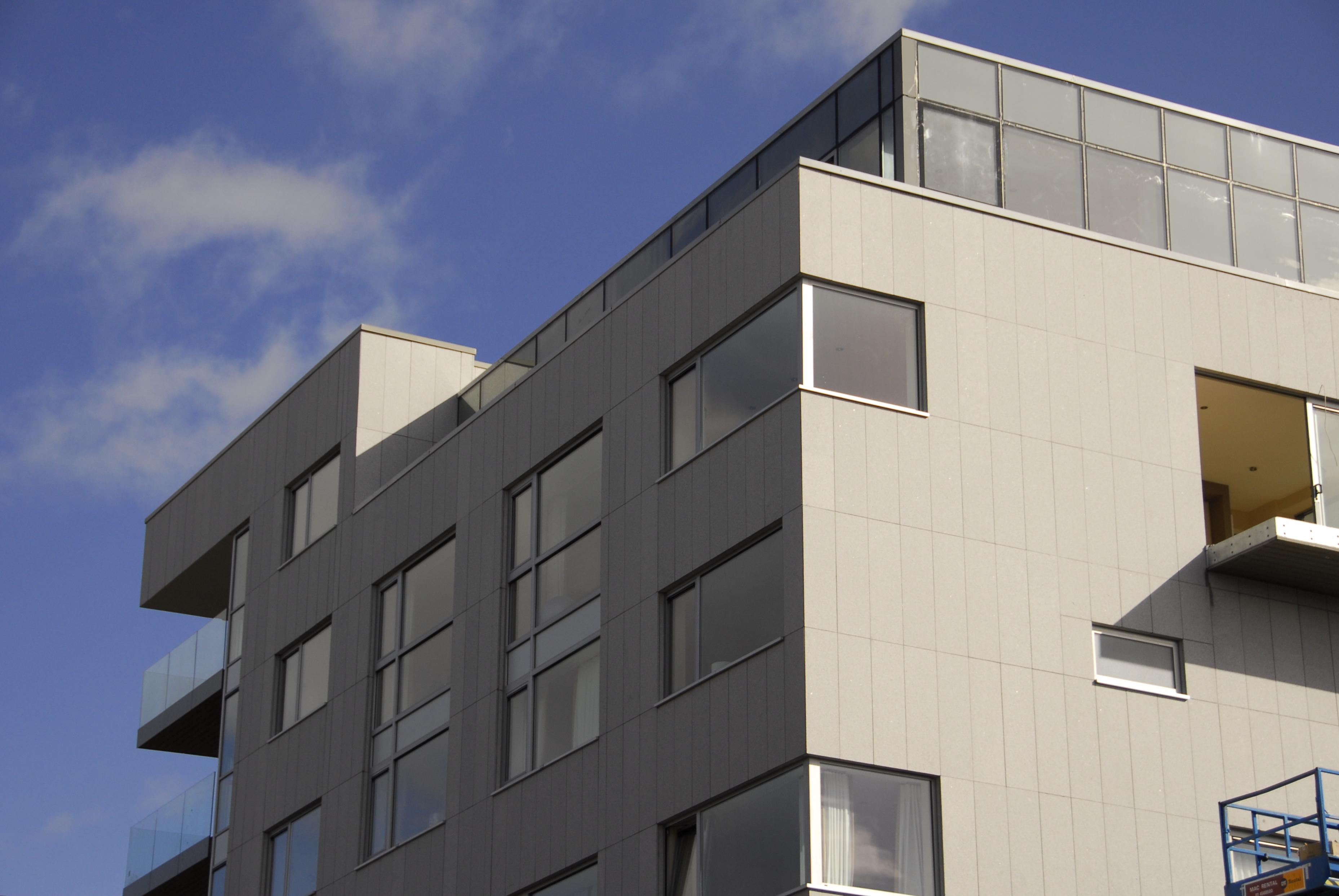 Sistema Masa • Blackhall Place • revestimiento de fachada
