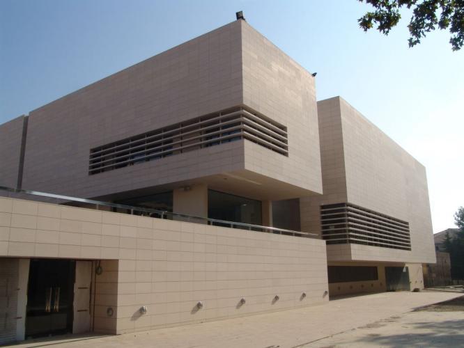 Museo Diocesano y Comarcal LLeida con fachadas ventiladas de Sistema Masa