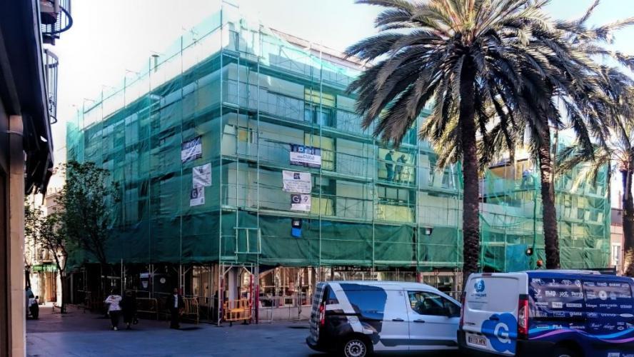 Rehabilitación fachada ventilada - Sistema Masa
