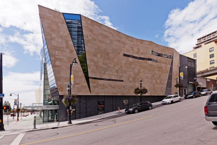 Anvil Center (New Westminster CC) - Sistema Masa