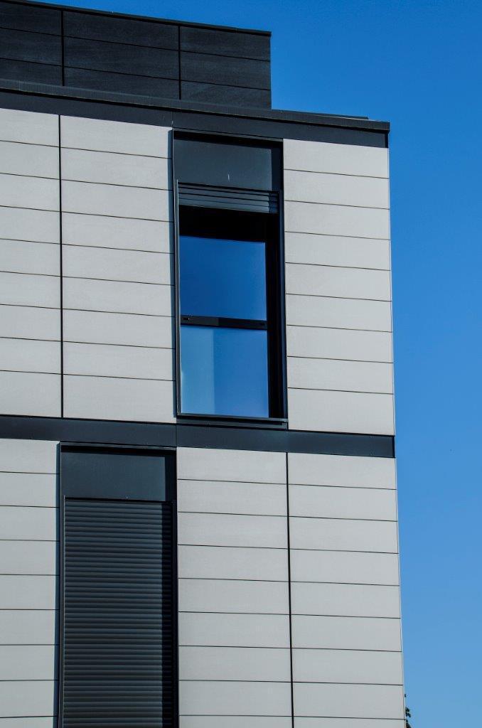 Edificio Viviendas Pima Major fachada ventilada · Sistema Masa