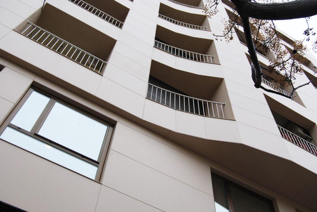 Sistema Masa • Rehabilitación viviendas en Sabadell • fachadas ventiladas