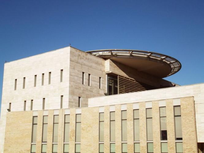 Edificio Ejercito Bicentenario con sistema de fachada ventilada · Sistema Masa