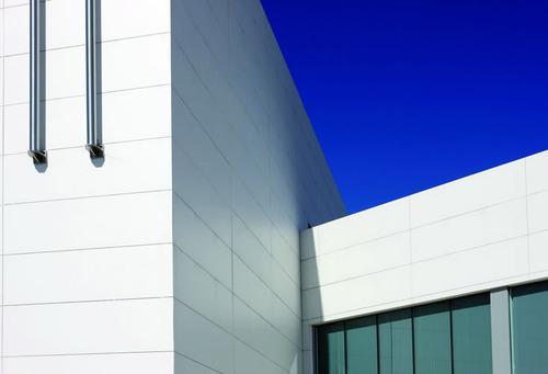 Biblioteca Ana Maria Matute fachadas ventiladas - Sistema Masa