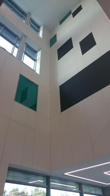 Recepción edificio Lift+